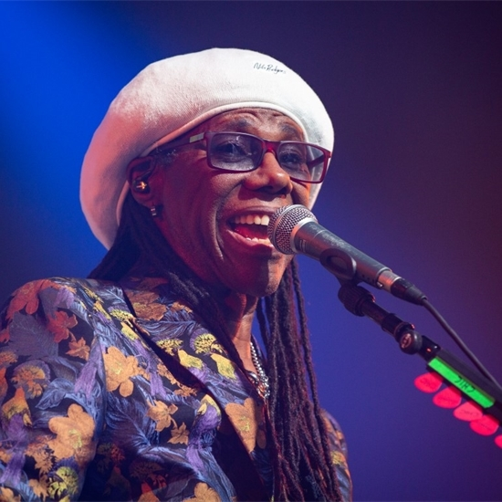 Photo report: Nile Rodgers