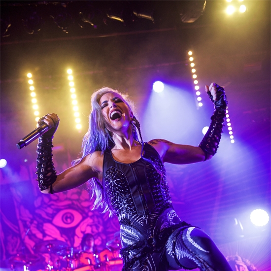 Photo report: Arch Enemy