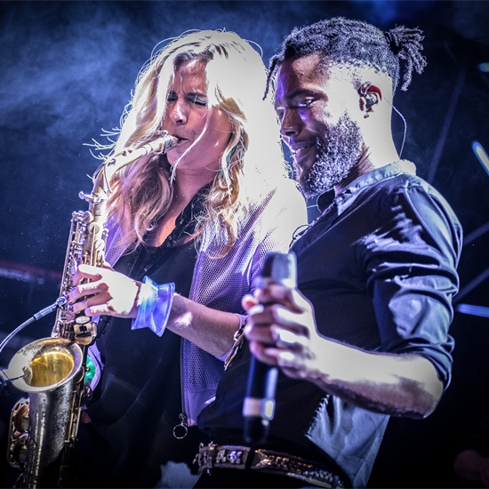 Photo report: Candy Dulfer