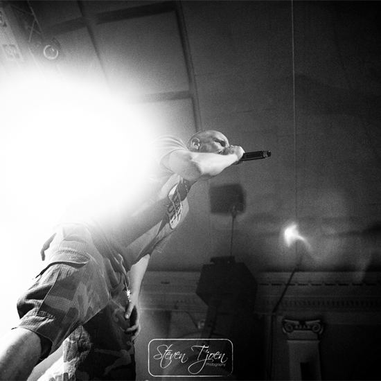 Photo report: Clawfinger