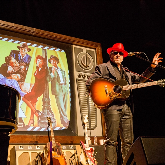 Photo report: Elvis Costello