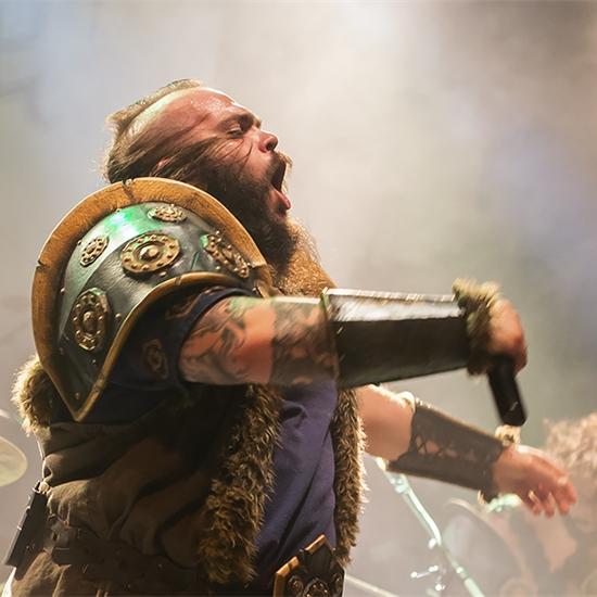 Photo report: Ensiferum