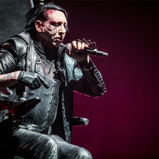 Photo report: Marilyn Manson