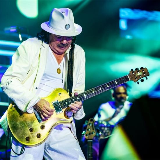 Photo report: Santana